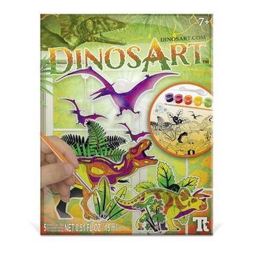 Dinos Art Suncatchers