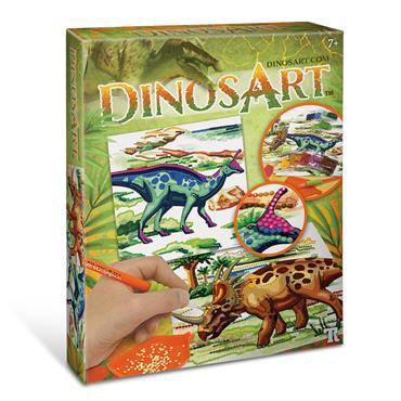 Dinos Art Dazzle-by-Number
