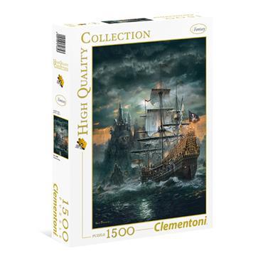 HQC 1500pc Puzzle - The Pirate ship