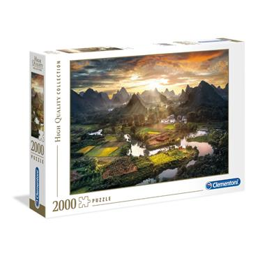 HQC 2000pc Puzzle - View of China