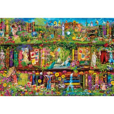 HQC 2000pc Puzzle - The Garden Shelf