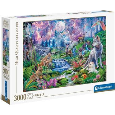 HQC 3000pc Puzzle - Moonlit Wild