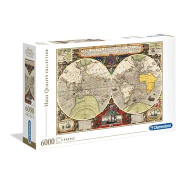 HQC 6000pc Puzzle - Antique Map