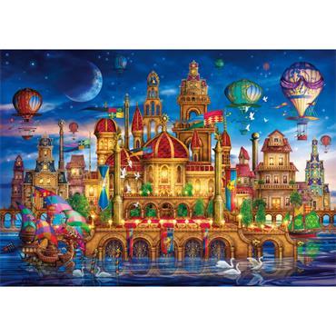 HQC 6000pc Puzzle - Downtown