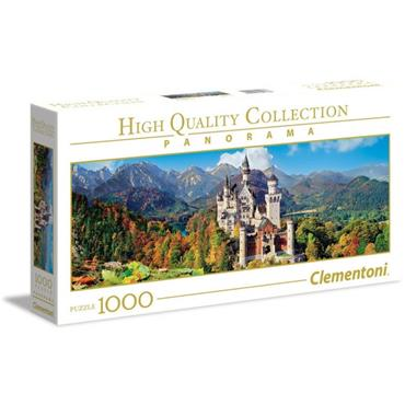 HQC 1000pc Panorama Puzzle - Neuschwanstein
