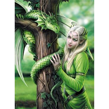 Anne Stokes 1000pcs Puzzle - Kindred Spirits