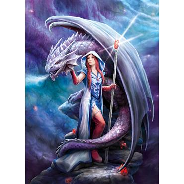 Anne Stokes 1000pcs Puzzle - Dragon Made