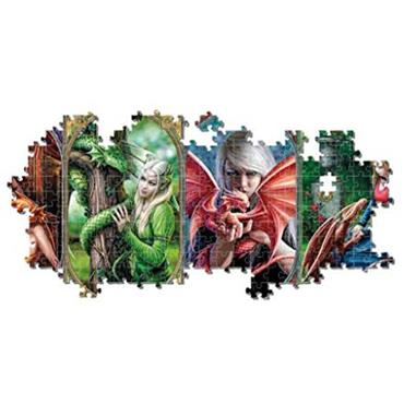 1000pcs Panorama Puzzle - Dragon Friendship