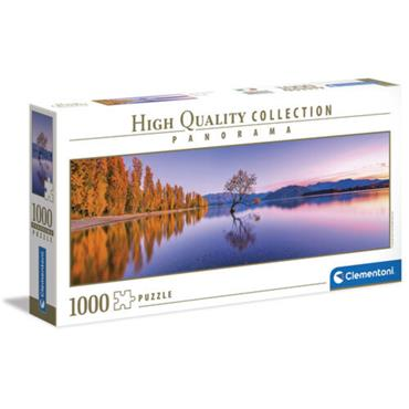 HQC 1000pc Panorama Puzzle - Lake Wanaka Tree
