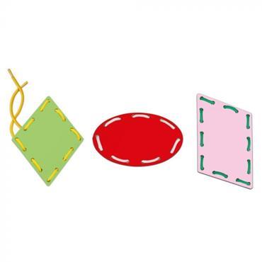 Clementoni Montessori - Shapes & Laces