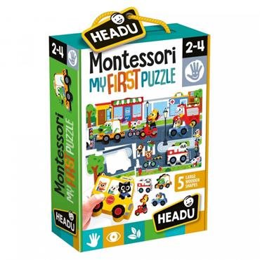 MONTESSORI FIRST PUZZLE THE CITY