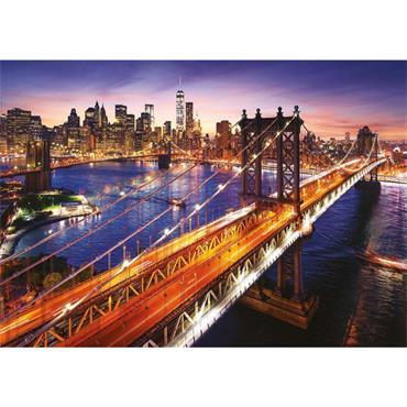 Manhattan at Sunset 3000 PC Puzzle