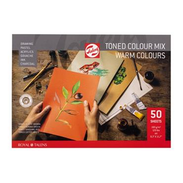 Toned Paper mix warm A4 180 g 50 pages