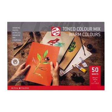Toned Paper mix warm A3 180 g 50 pages