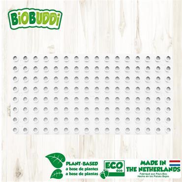 BiOBUDDi Baseplate - White