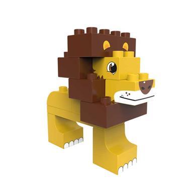 BiOBUDDi Wildlife 2in1 - Savanna (Lion /Ostrich)