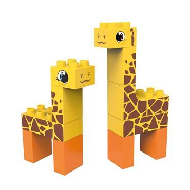 BiOBUDDi Wildlife 2in1 - Steppe (Giraffe/Deer)