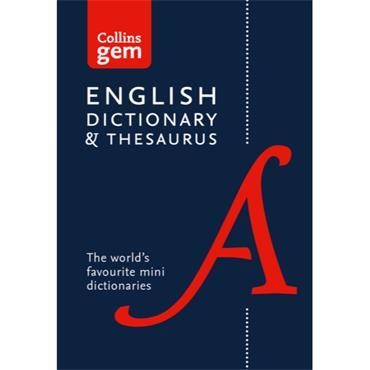 GEM ENGLISH DICTIONARY & THESAURUS