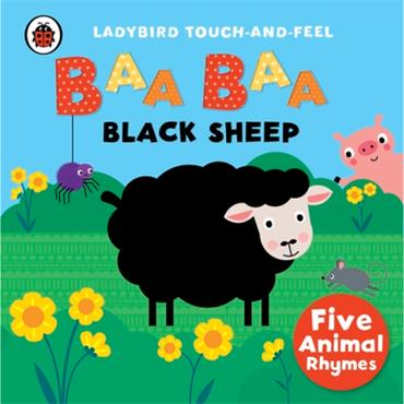 BAA BAA BLACK SHEEP LADYBIRD TOUCH AND