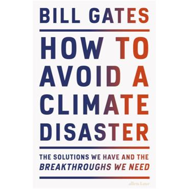 HOW TO AVOID A CLIMATE DISASTER H/B