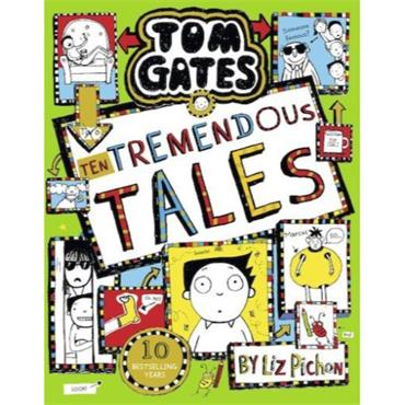 TOM GATES 18 TEN TREMENDOUS TALES H/B