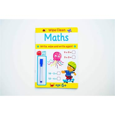 WIPE CLEAN WITH PEN 6+ Maths