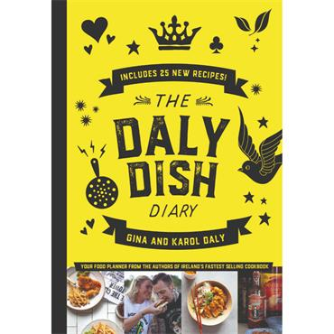 DALY DISH FOOD PLANNER H/B