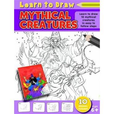 A4 LEARN TO DRAW - 6-10-,MYTH