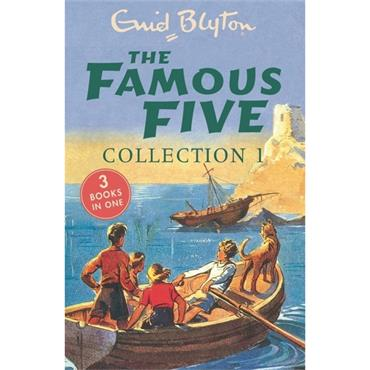 FAMOUS FIVE COLLECTION BOOKS 1-3