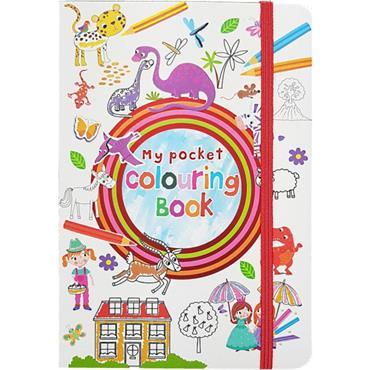 KIDS POCKET ACT BK - ACTIVITY 1/COLOURING  - 24/CD