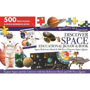 WOL LGE JIGSAW/BOOK SET - SPACE