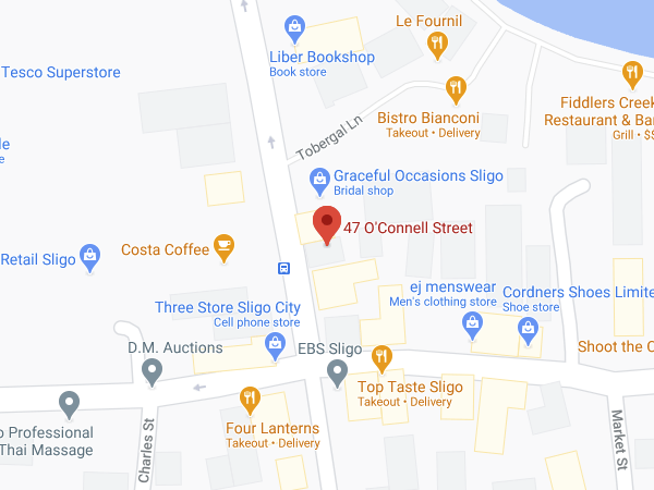 Hobby Shop location map