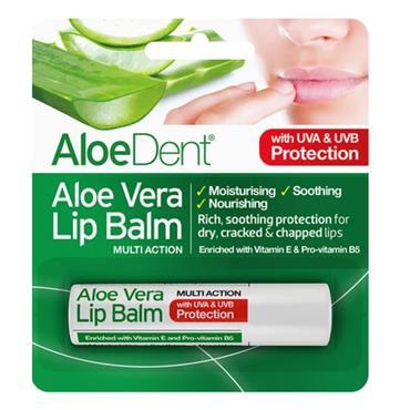 Aloe Vera lip balm with Tea Tree & Lysine 4g