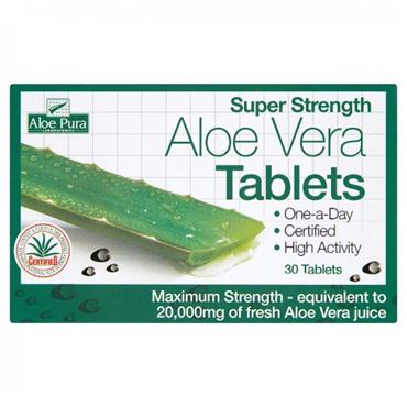 Super Strength Aloe Vera Tablets- 60s