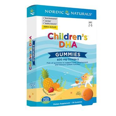 Nordic Nat DHA Gummies 30s