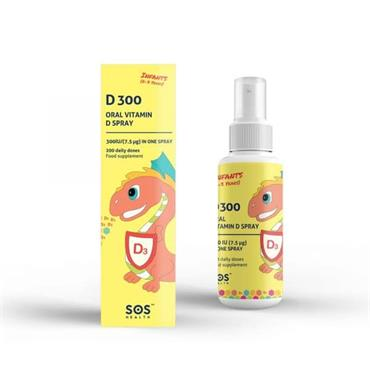 SOS Health - D300 Oral Vitamin D Infant Spray 30ml