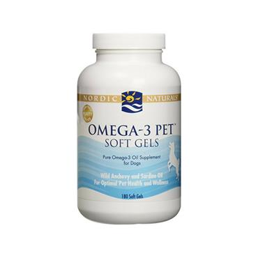 Nordic Naturals - Nordic Pet Omega-3 - 90 Soft Gels for Dogs