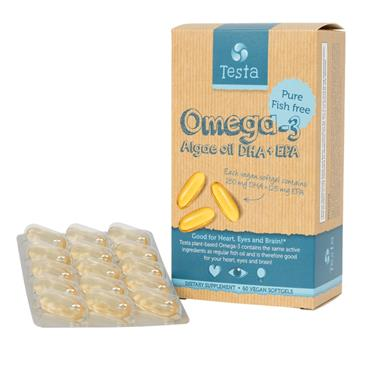 Testa Algae Omega 60s