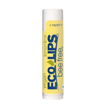 Eco Lips Bee Free Vegan Lemon Lime Lip Balm