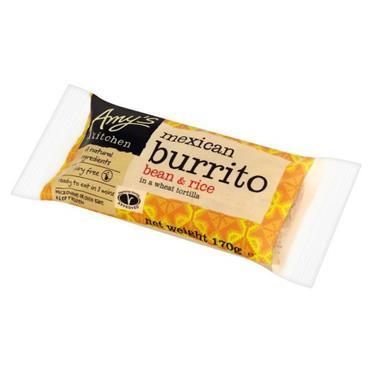 Amys Vegan Mex Bean Burrito 170g