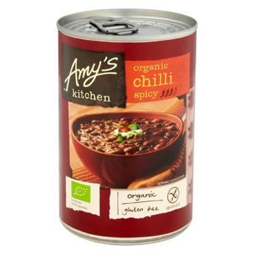 Amy's Spicy Chilli Soup 400g