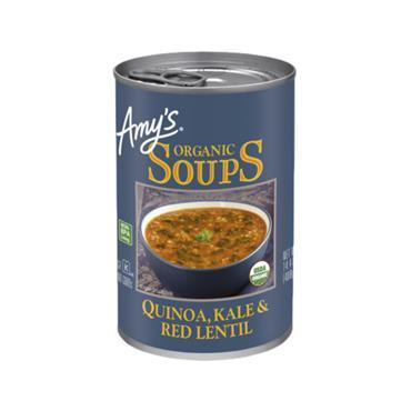 Amy's Kitchen Organic Kale Quinoa Lentil Soup 408g