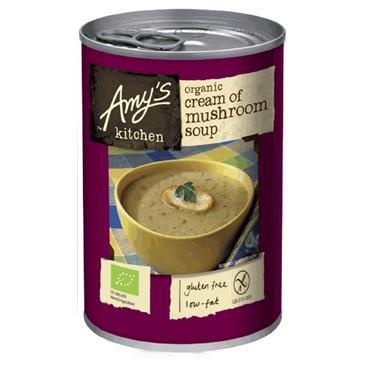 Amy's Organic Cream of Mushroom Soup 400g