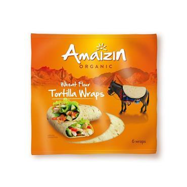 Amaizin Soft Tortilla Wraps ( 6 Pieces) 240g