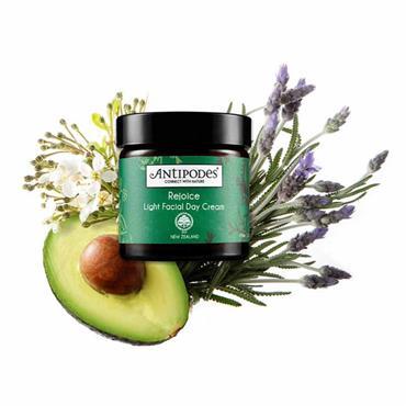 Antipodes Organic Rejoice Light Facial Day Cream 60ml