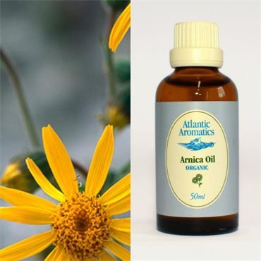 Atlantic Aromatics Organic Arnica Oil 50ml
