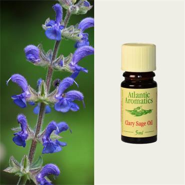 Atlantic Aromatics Organic Clary Sage Oil 5ml
