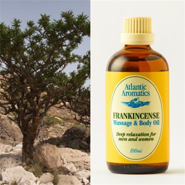 Atlantic Aromatics Frankincense Relaxation Massage Oil 100ml
