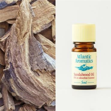 Atlantic Aromatics Australian Sandalwood Oil (15% in coconut) 5ml
