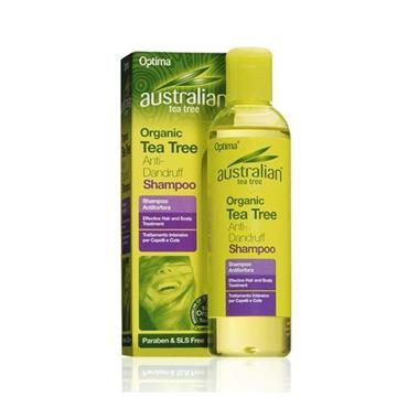 Optima Australian Organic Tea Tree Anti Dandruff Shampoo 250g